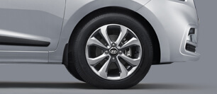 Hyundai Xcent Alloy Wheels